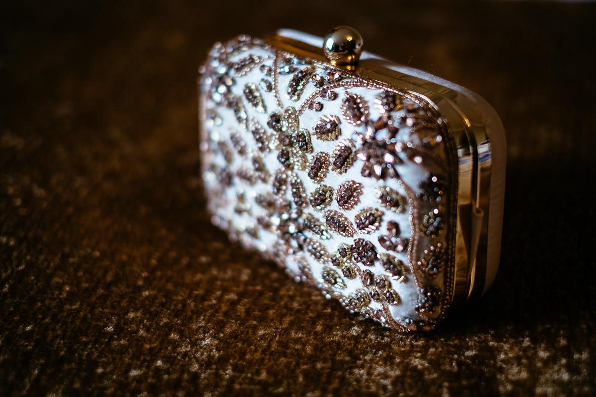 brides purse at glenlo abbey hotel wedding