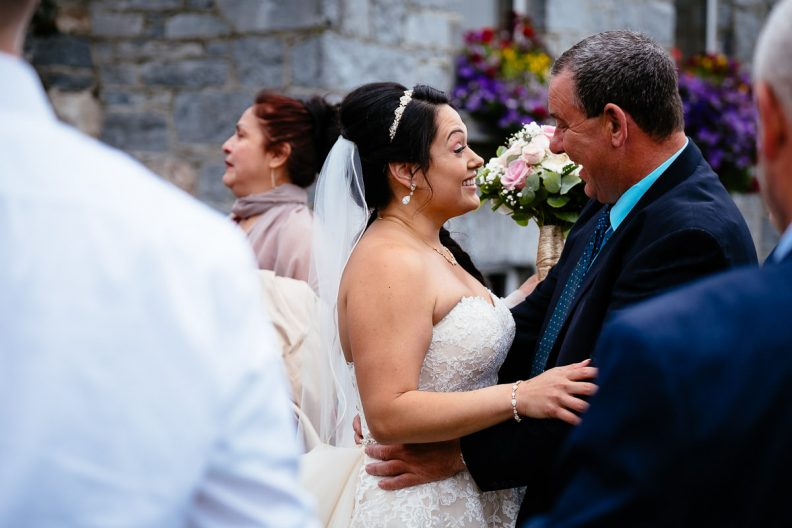 guest congratulations at glenlo abbey hotel