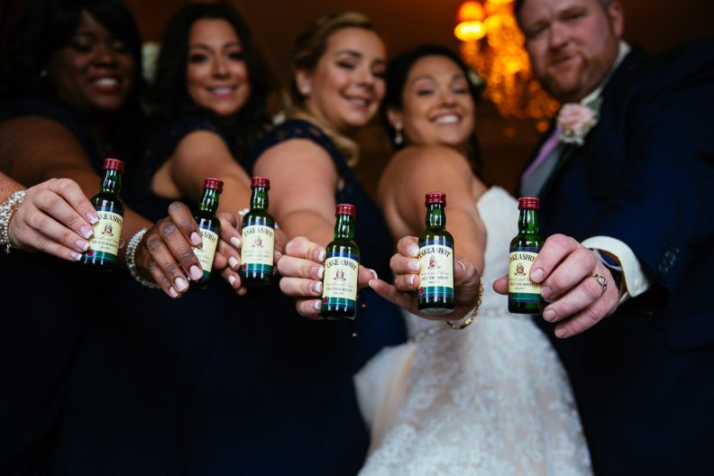 bridal party at glenlo abbey hotel wedding