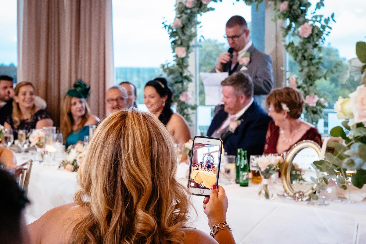 wedding speeches at glenlo abbey hotel