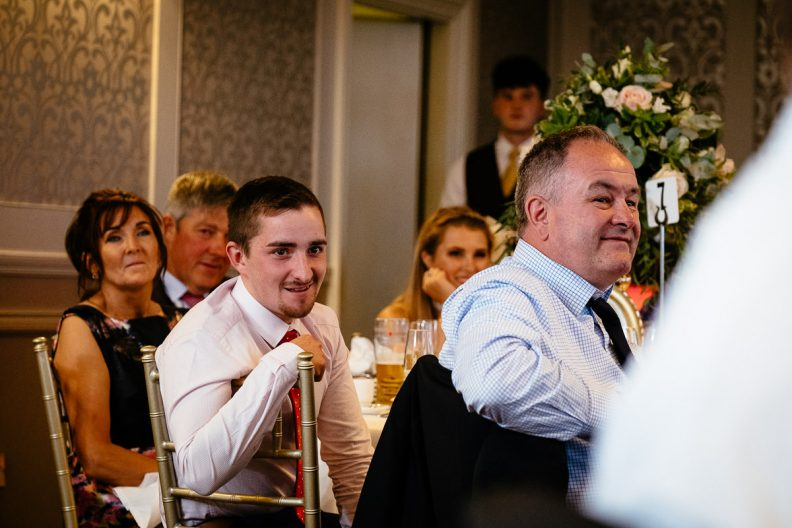 wedding speeches at glenlo abbey hotel