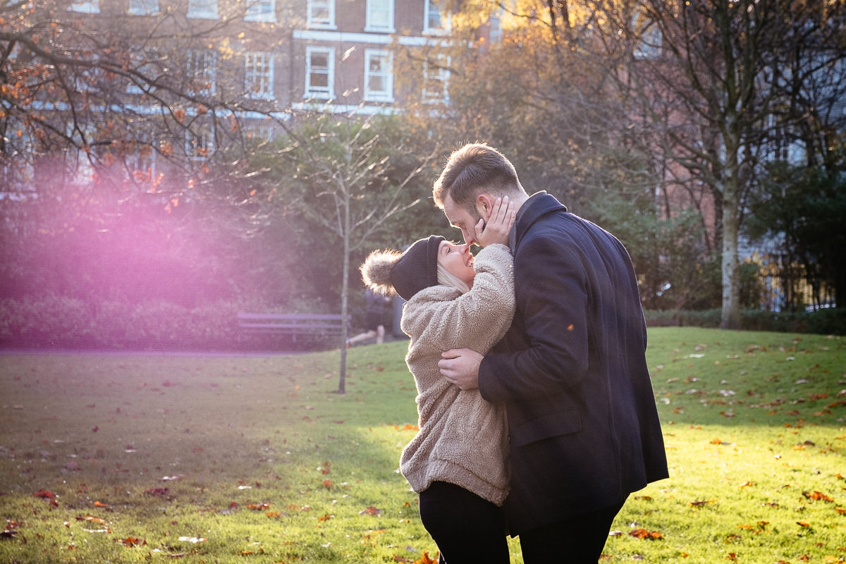 secret engagement proposal shoot in st stephens green dublin 0014