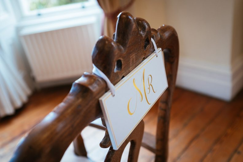 wedding details at balyna house at moyvalley hotel