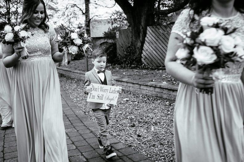 wedding ceremony at moyvalley hotel