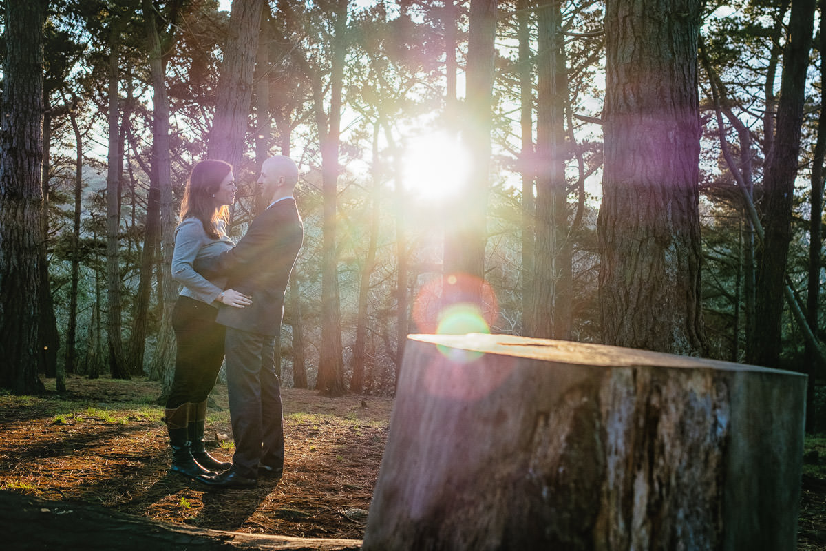 dublin engagement photography killiney hill 0002