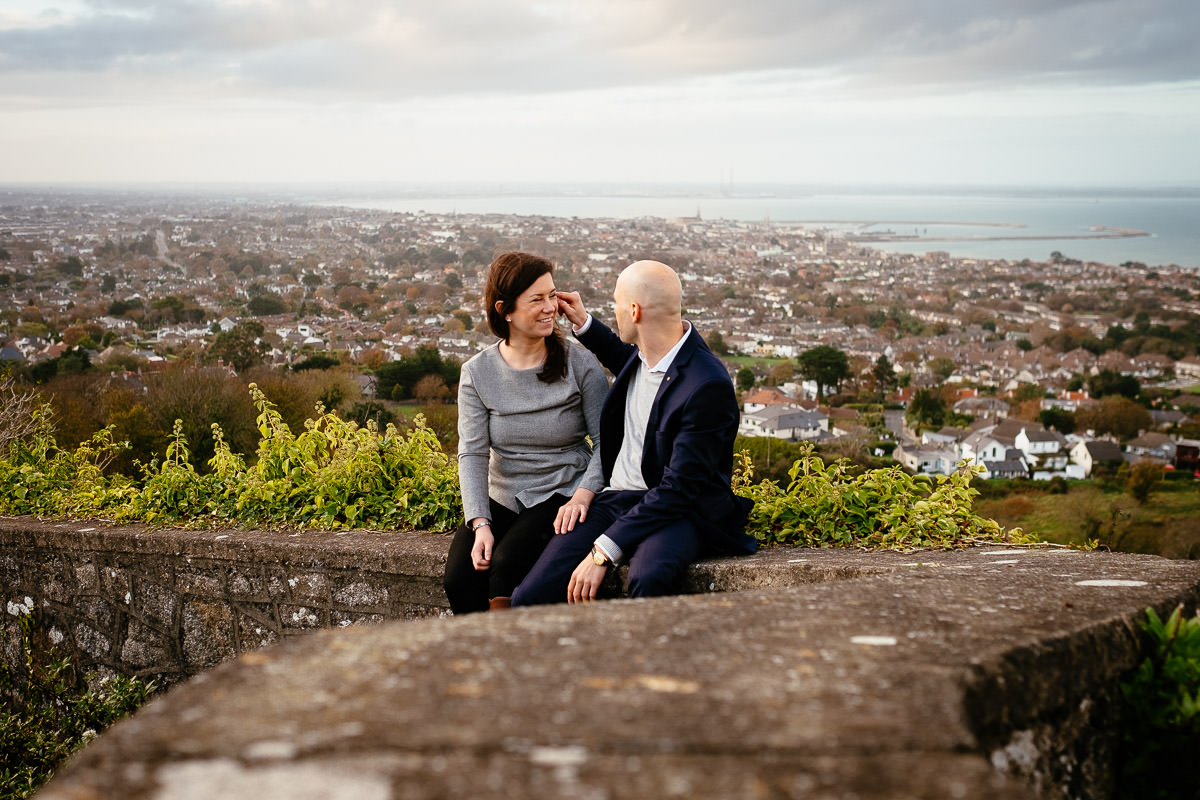 dublin engagement photography killiney hill 0027