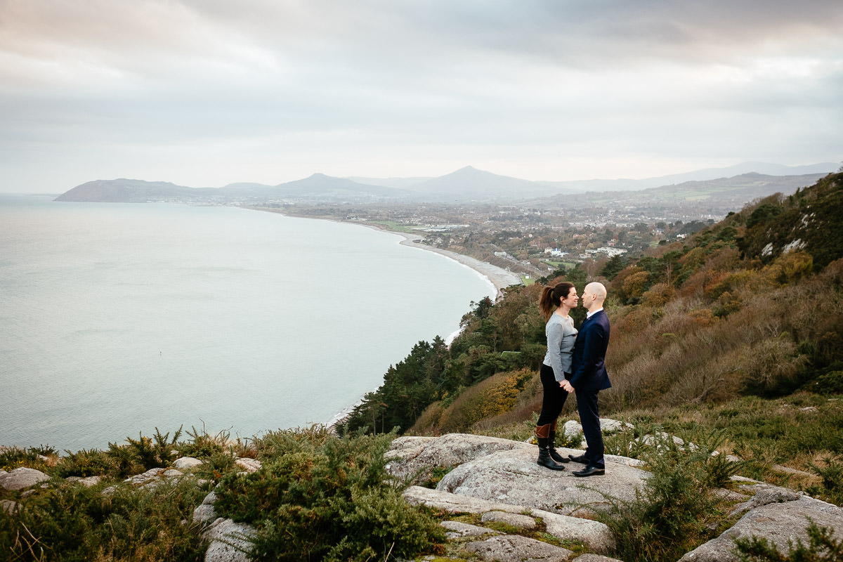 dublin engagement photography killiney hill 0056