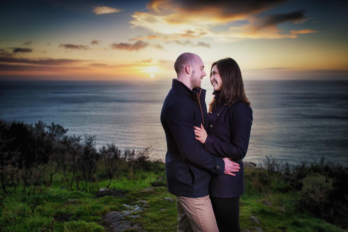 killiney hill dublin engagement photography 0002