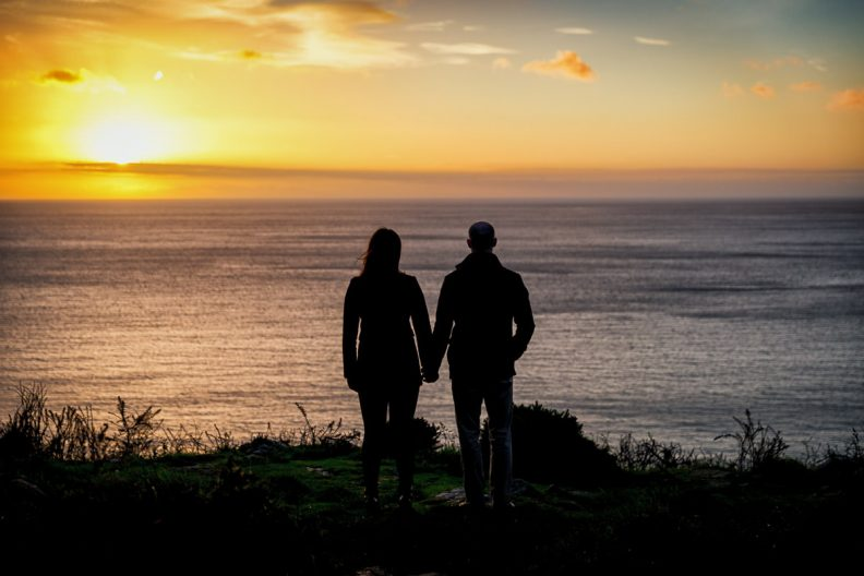 Engagement Shoot on Killiney Hill
