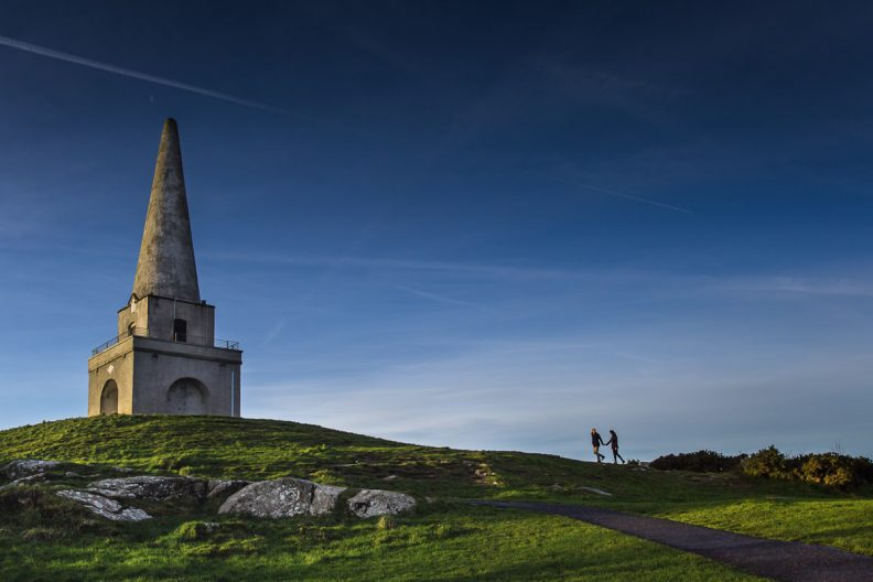 Engagement Shoot on Killiney Hill.