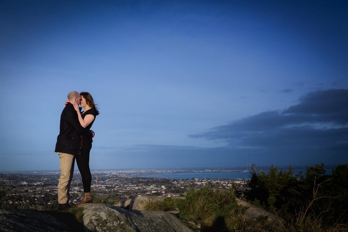 killiney hill dublin engagement photography 0085
