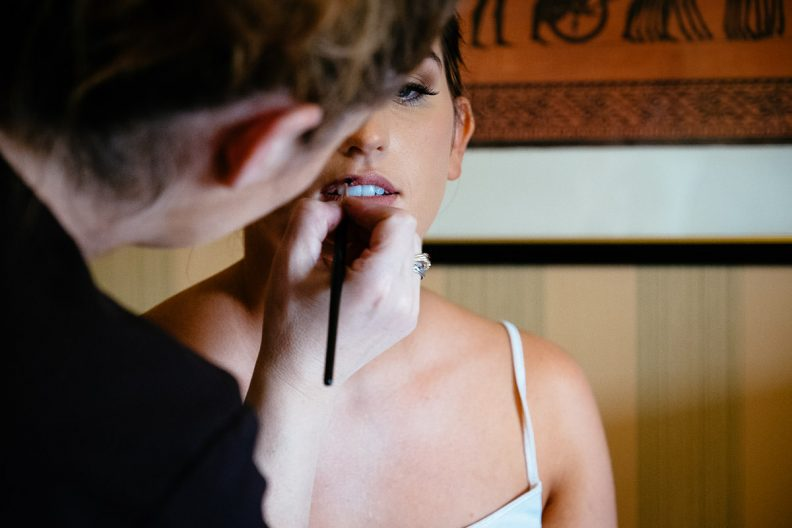 bridal preparations at the killashee hotel naas