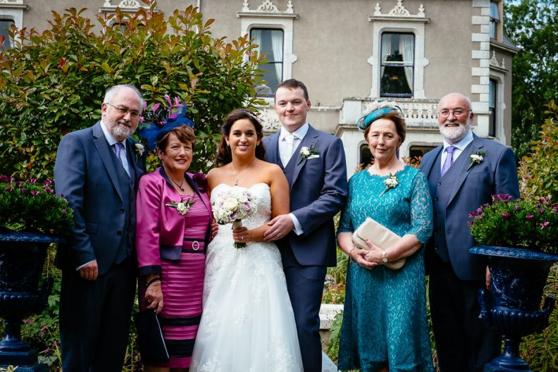 family photos at the killashee hotel naas
