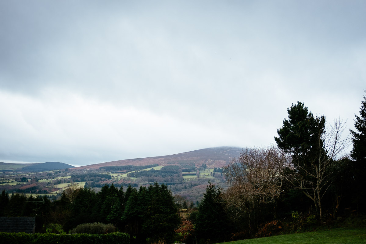 view from brides house in wicklow