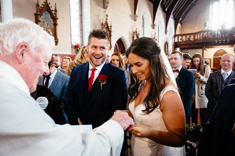 wedding vows donard church