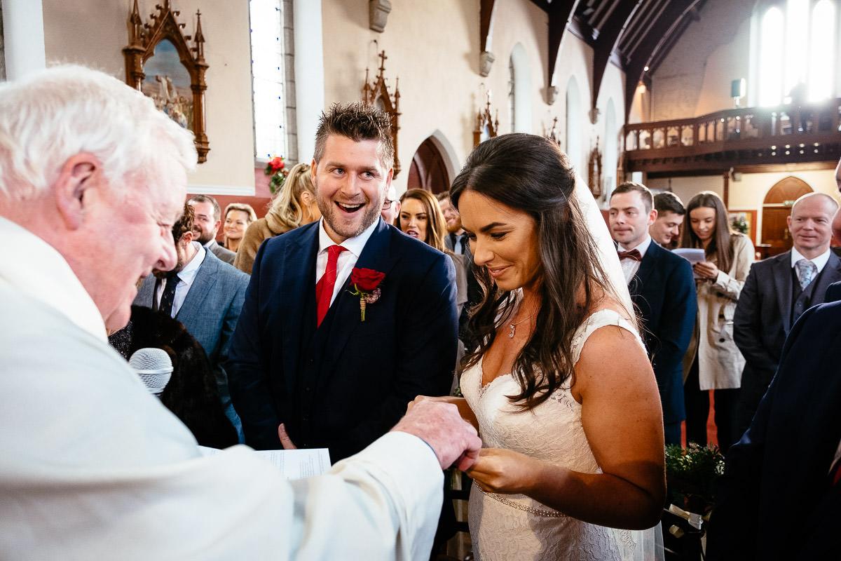wedding vows donard church