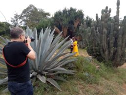 david duignan photographer shooting an engagement session in kenya