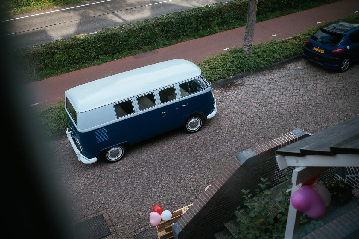 VW camper van in Zoetermeer