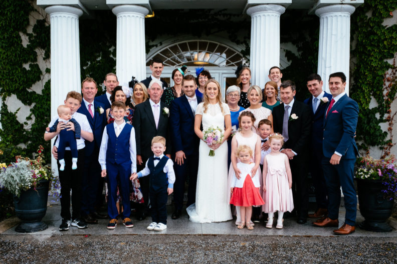 family photos at glasson house athlone