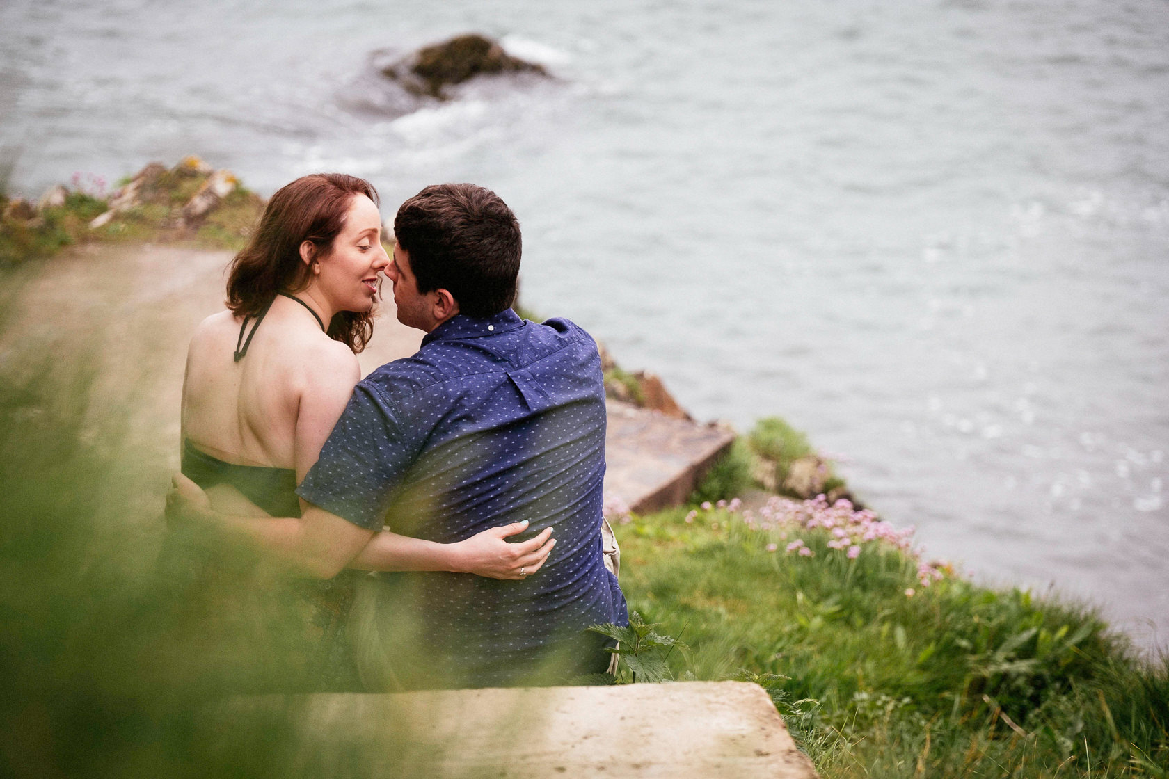 Engagement shoot in Ballycotton Co Cork 0030