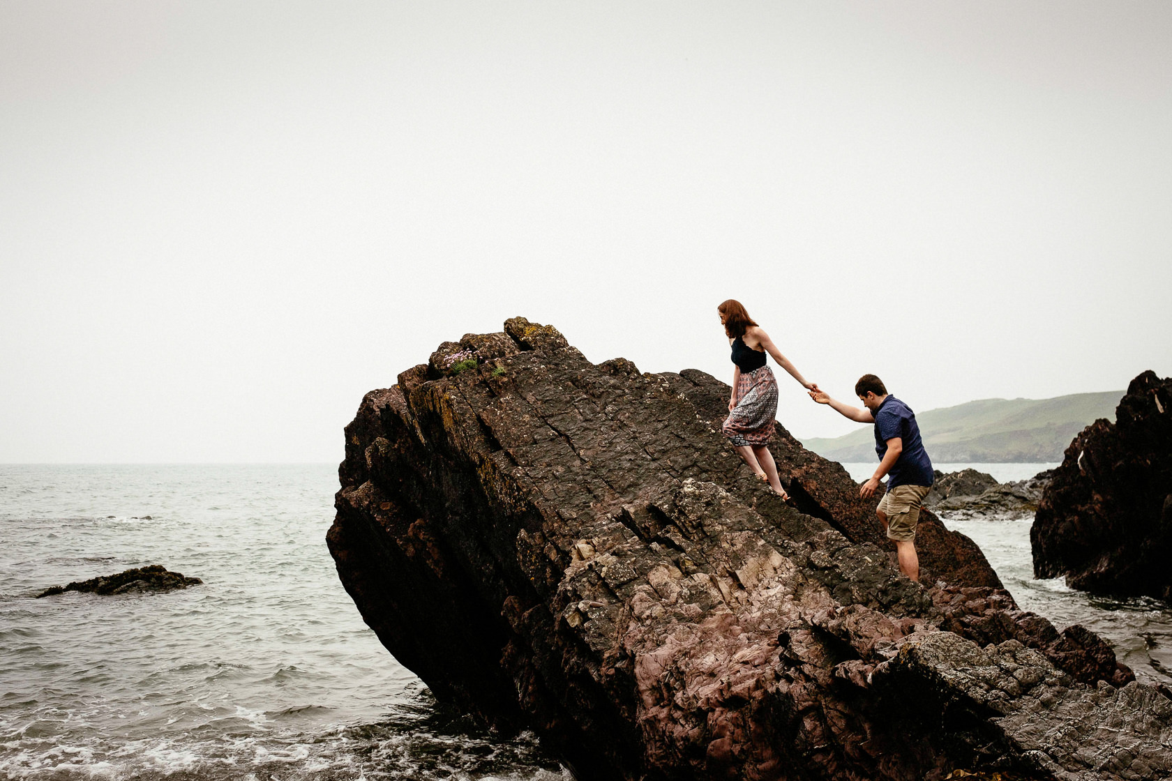 Engagement shoot in Ballycotton Co Cork 0033