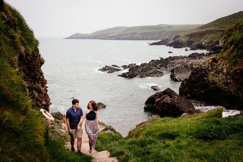 Engagement shoot in Ballycotton Co Cork 0037 792x528