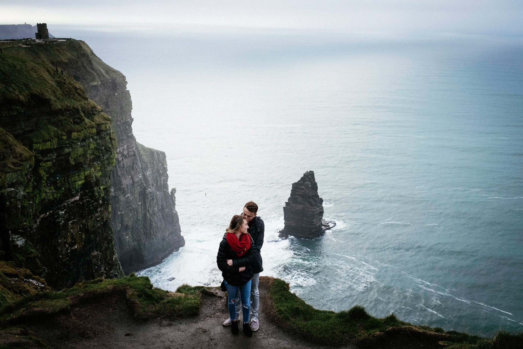 cliffs of moher engagement elopement wedding 0090