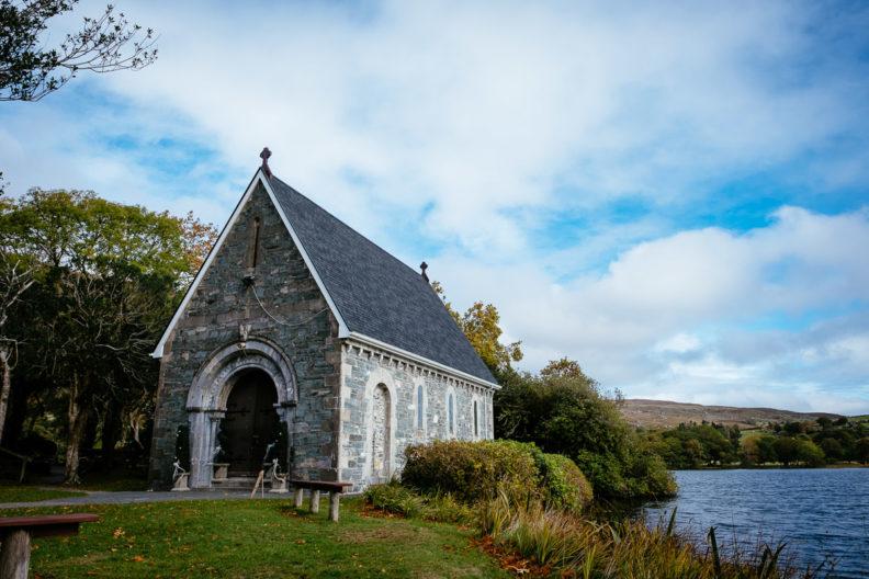 Gougane Barra church