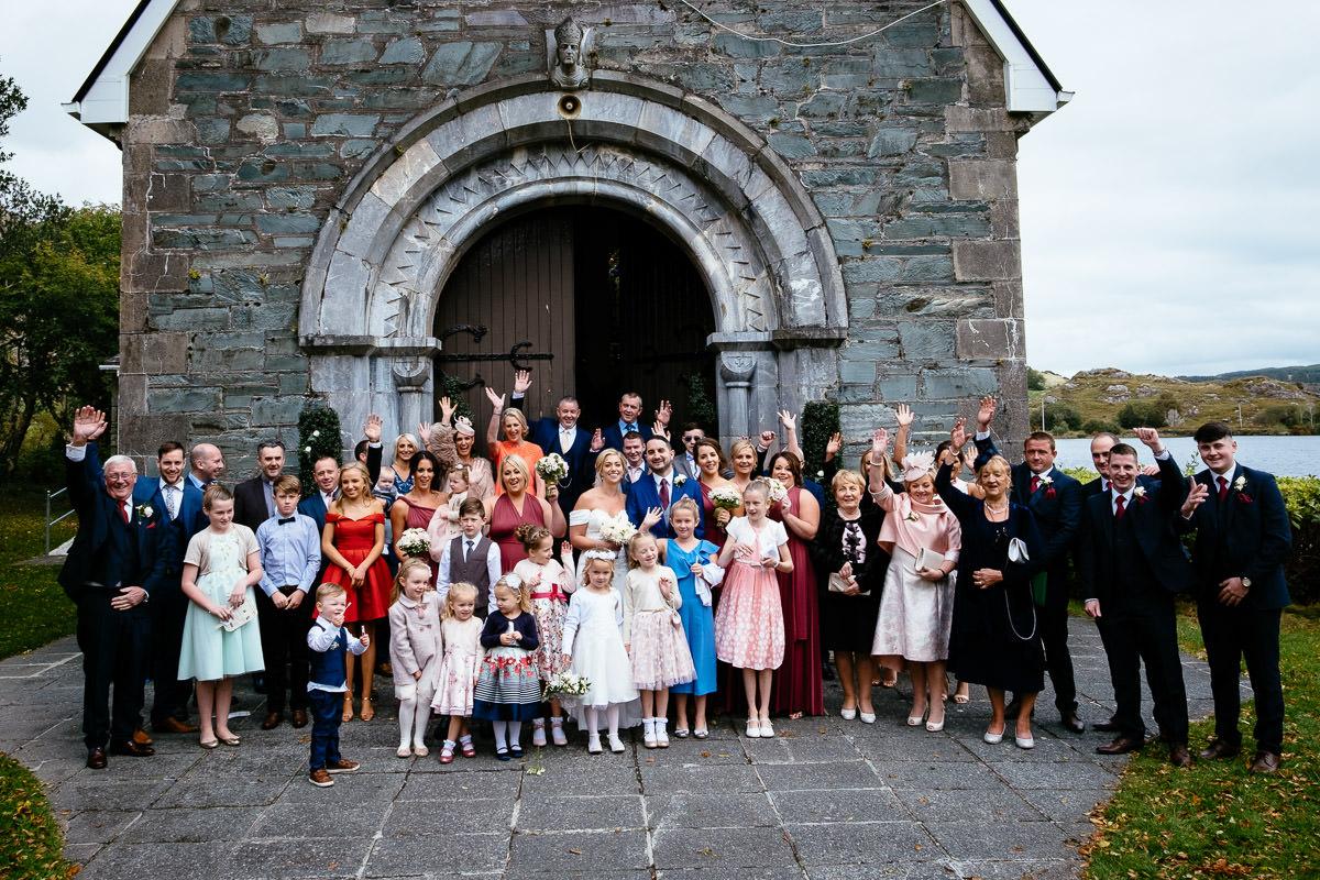 gougane barra church wedding and ballinacurra house photographer 0354