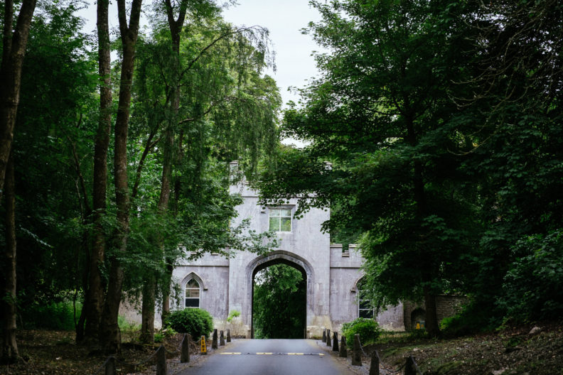 entrance gate to markree castle