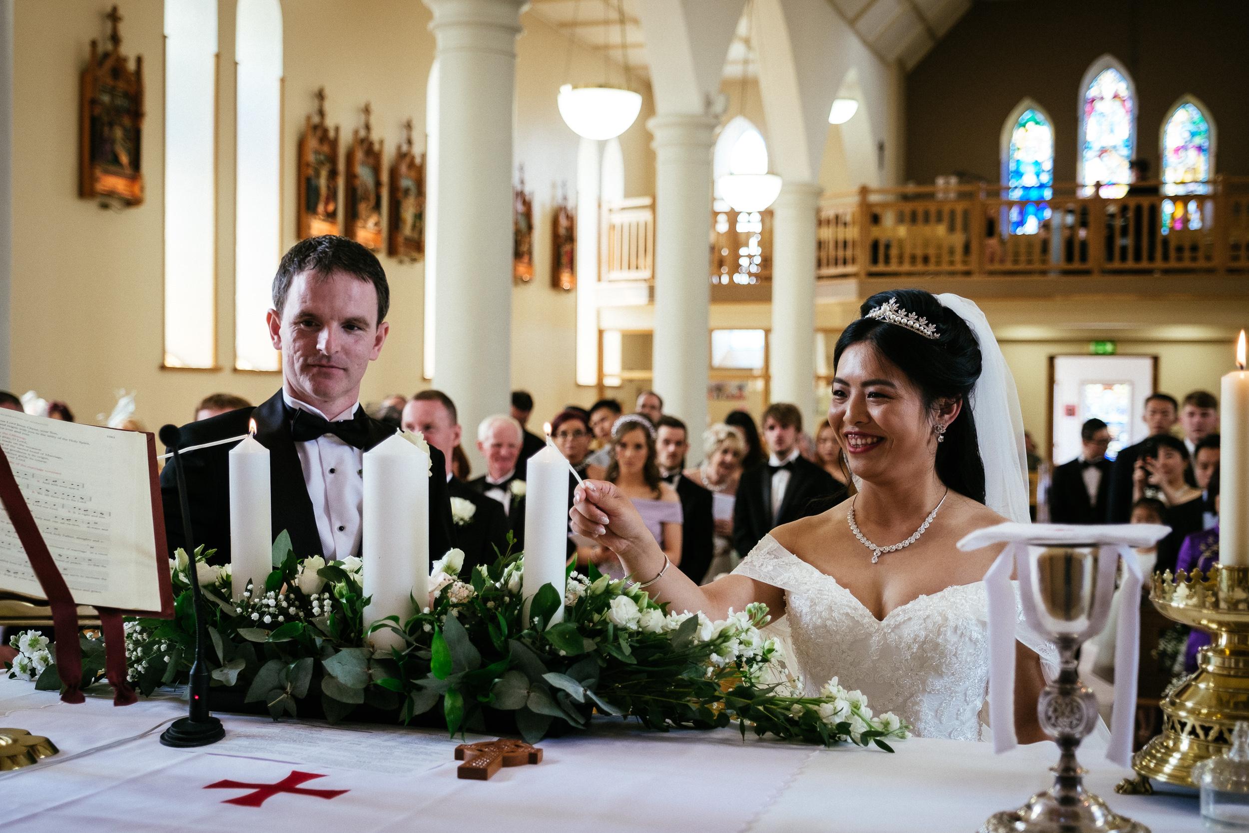 markree castle sligo Wedding Photographer 35