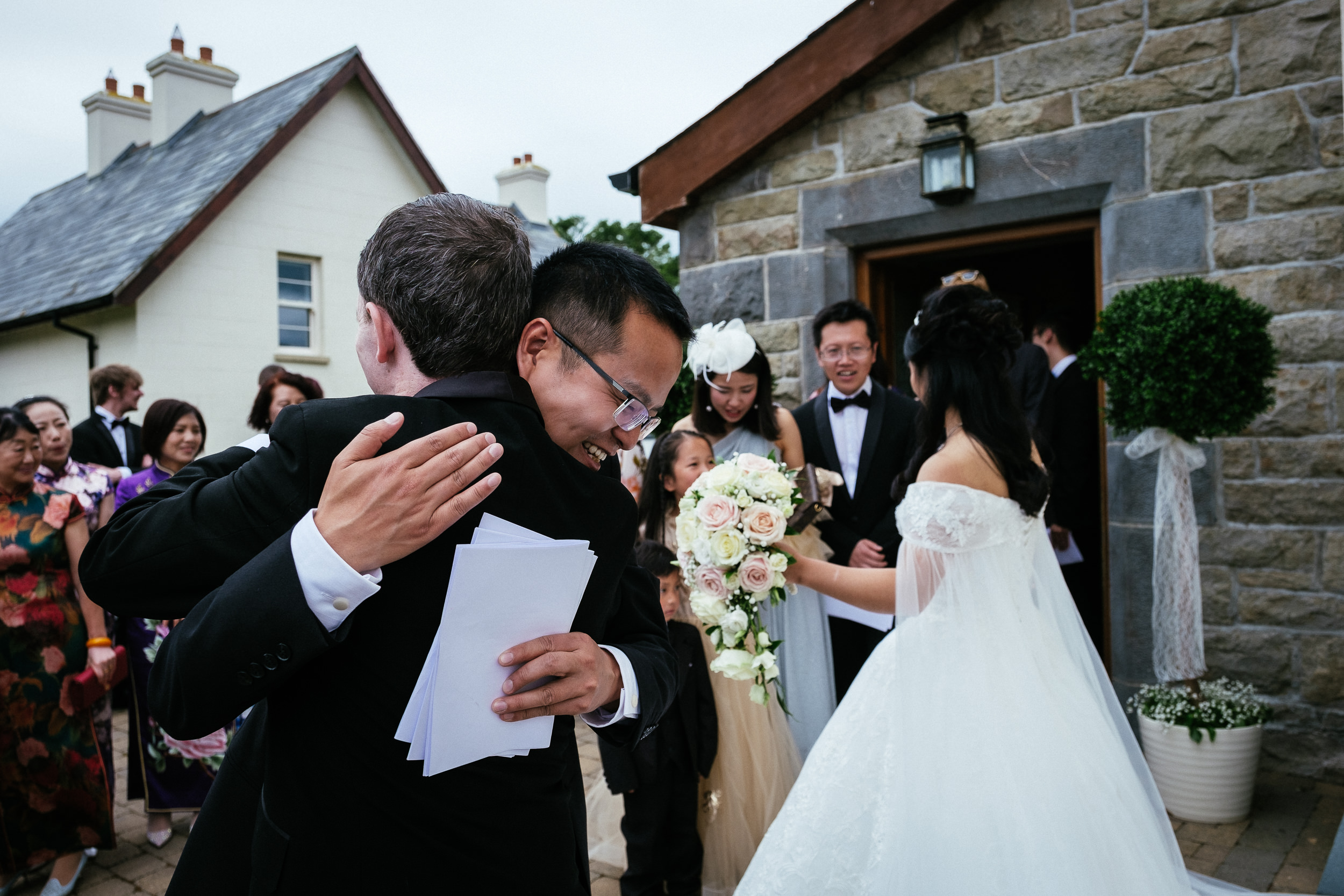 markree castle sligo Wedding Photographer 45