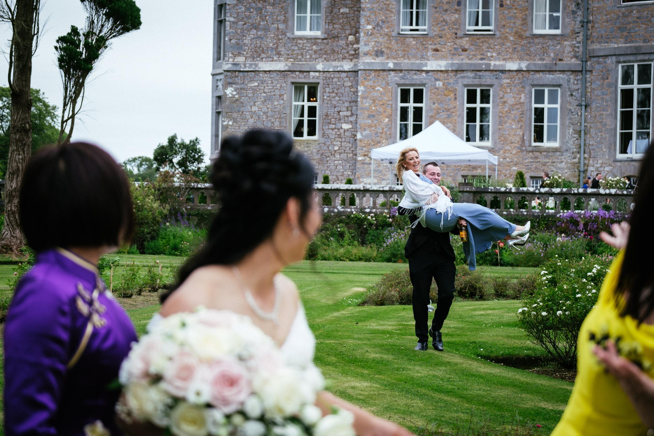 markree castle sligo Wedding Photographer 58