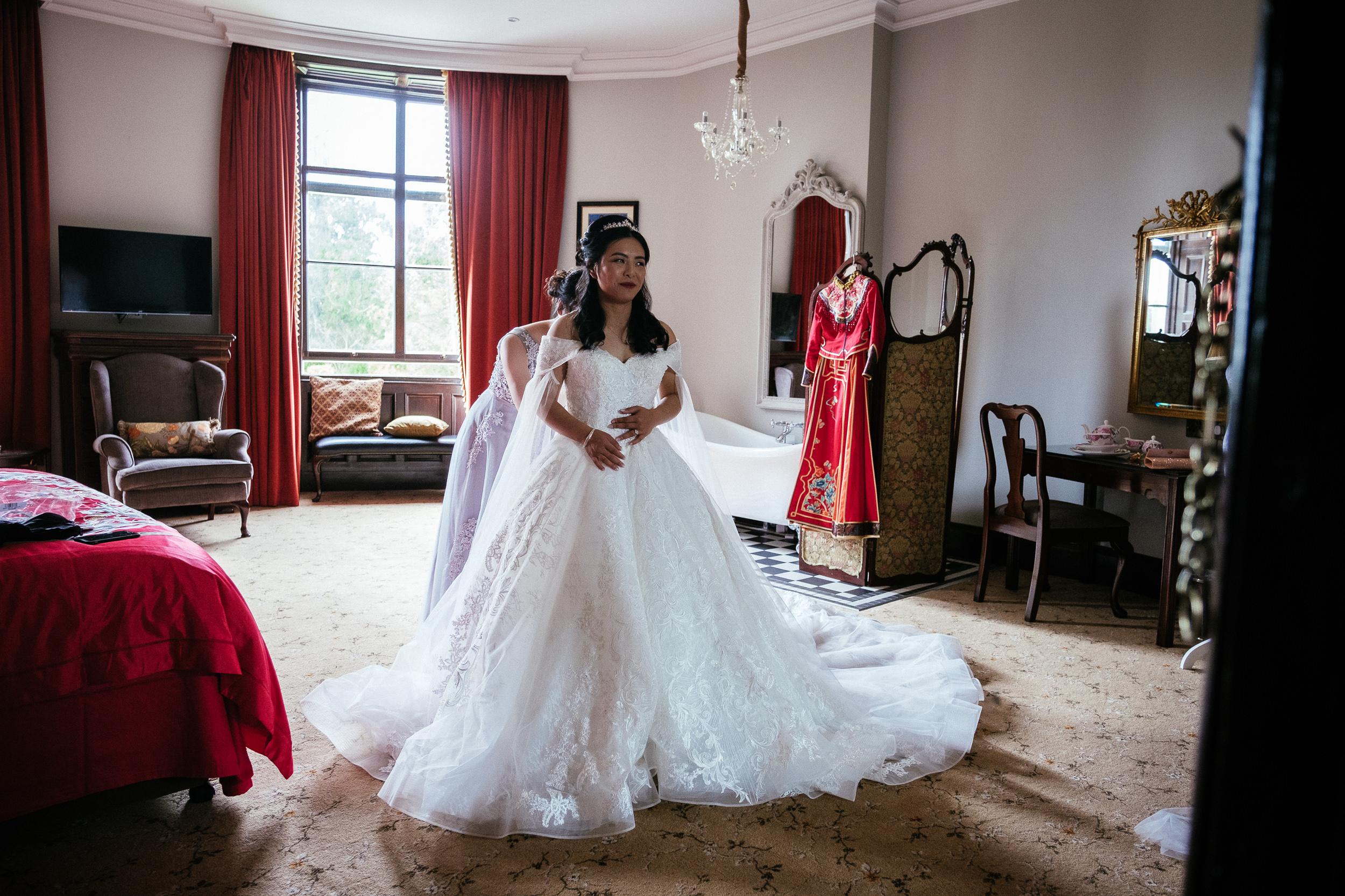 markree castle sligo Wedding Photographer 6