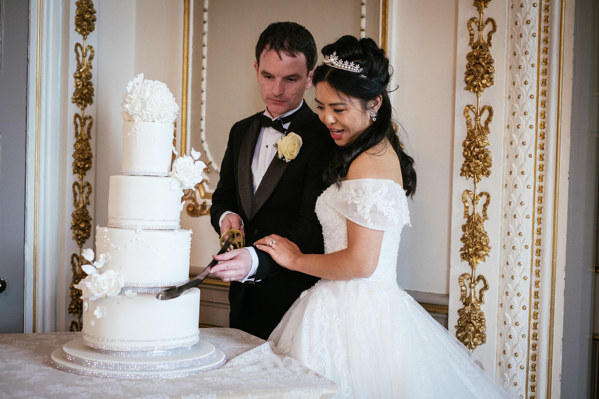 markree castle sligo Wedding Photographer 65