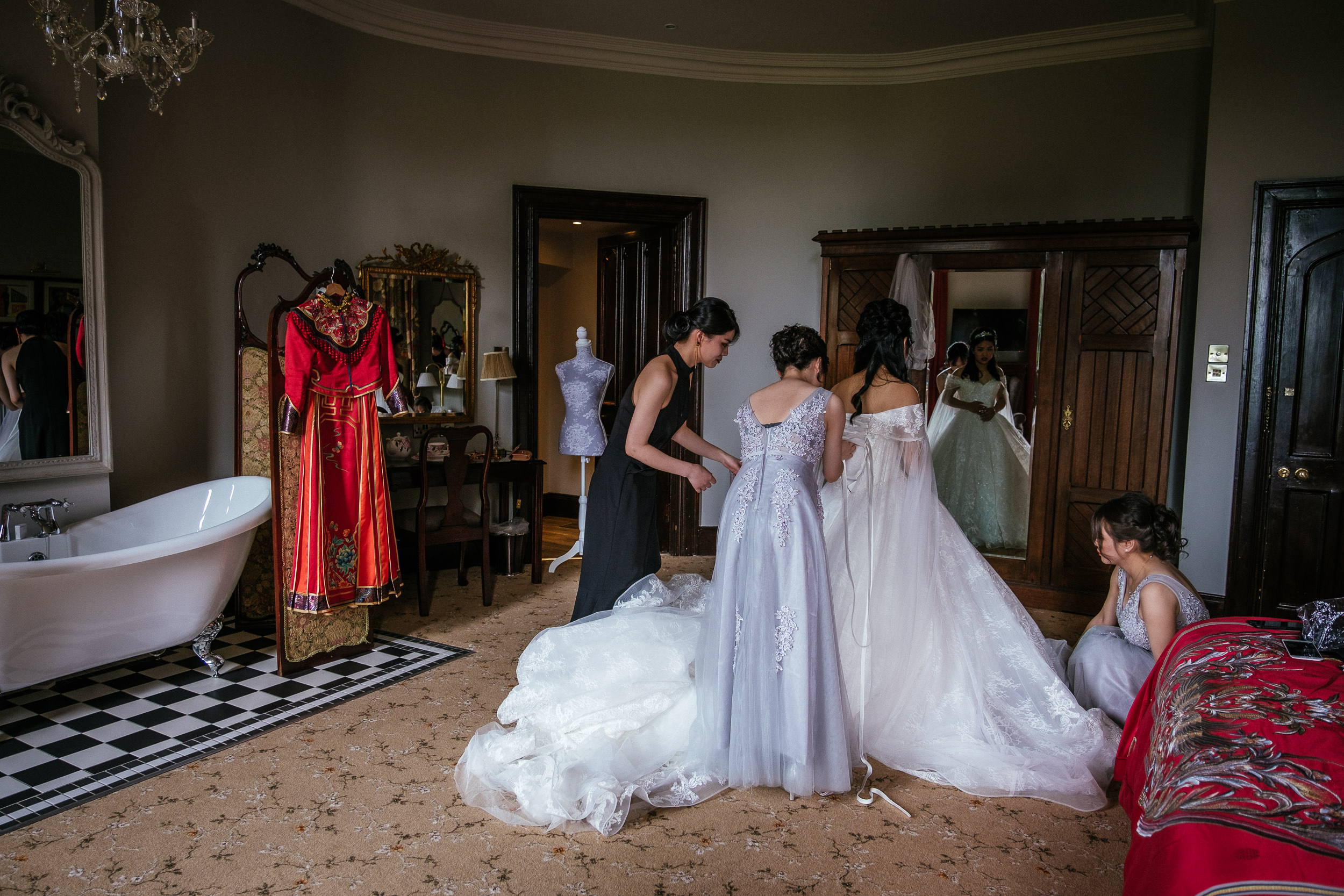 markree castle sligo Wedding Photographer 8