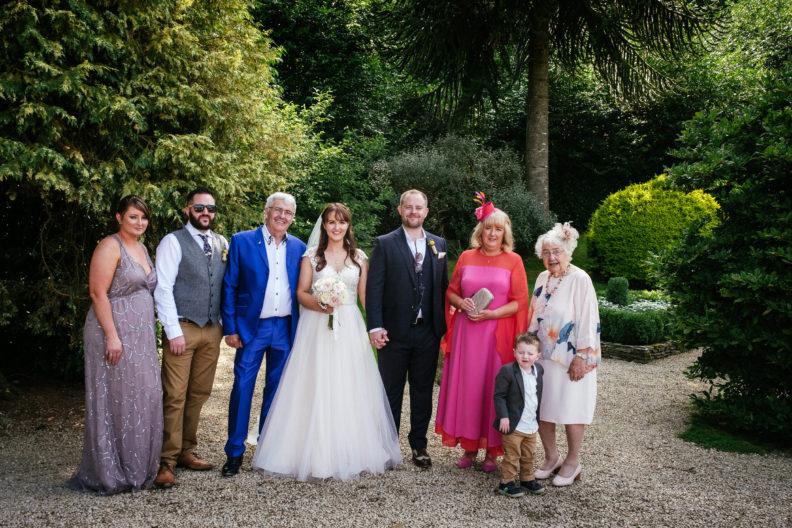 family photos at ballybeg house wicklow