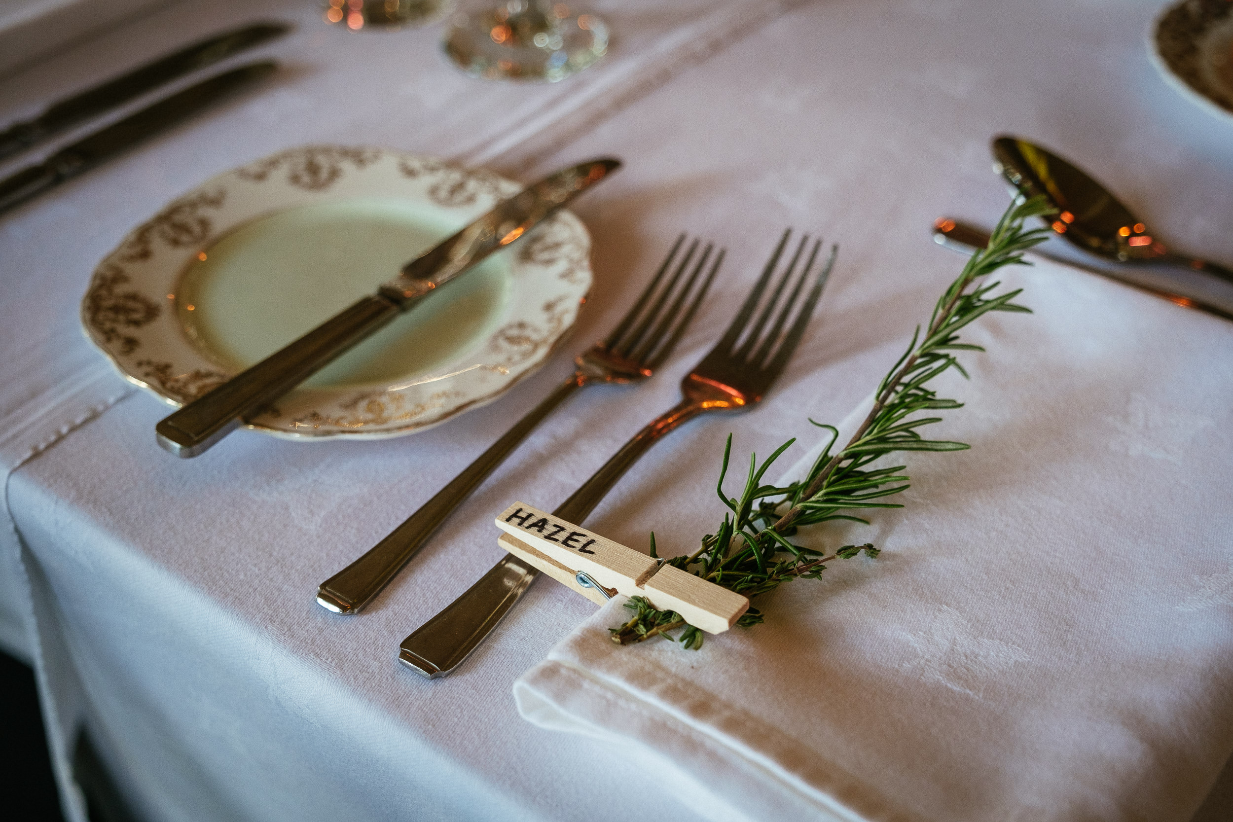 place settings at ballybeg house wicklow