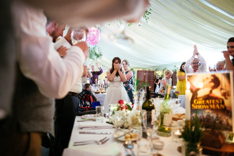 bride in tears at ballybeg house wicklow
