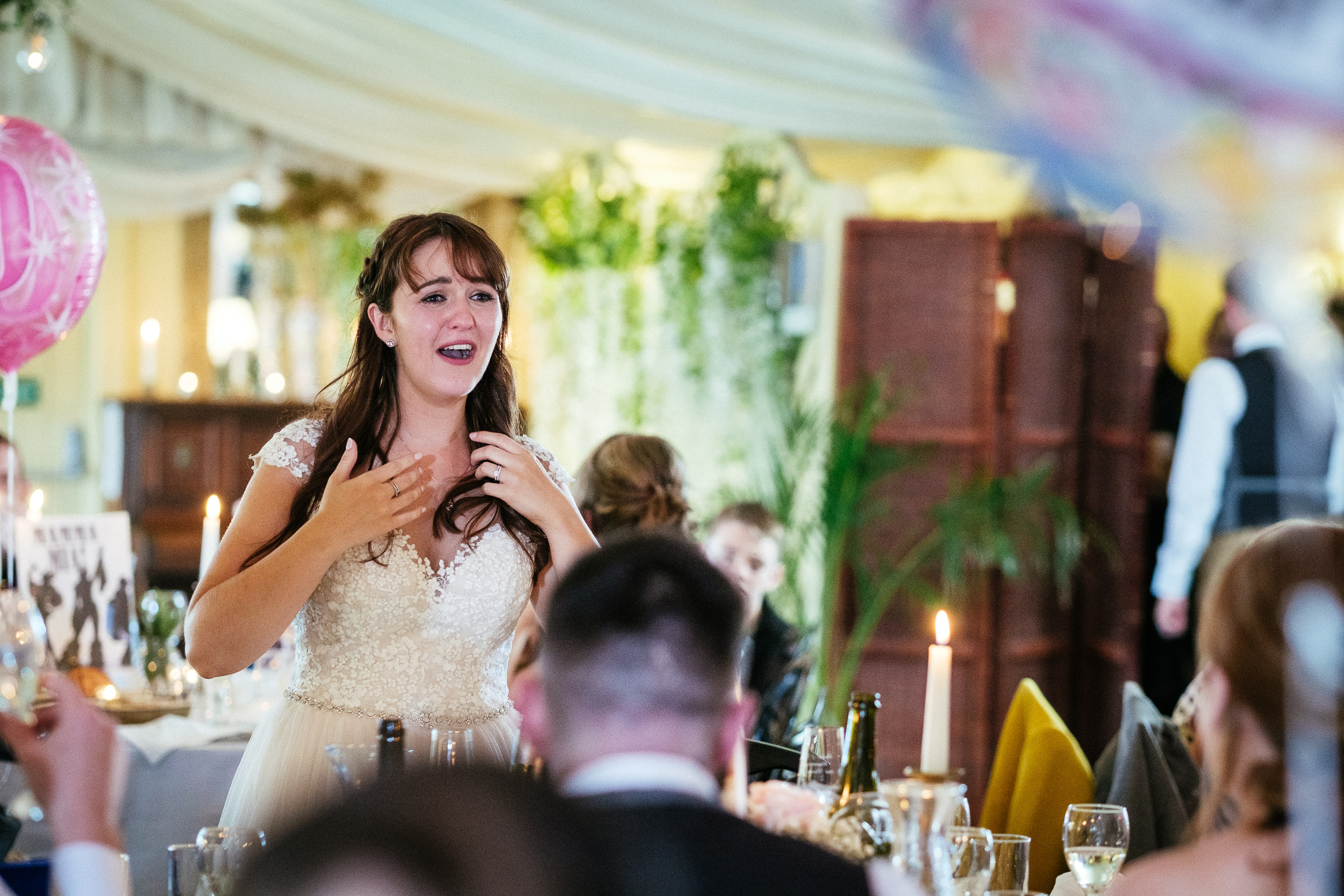 bride crying at ballybeg house wicklow