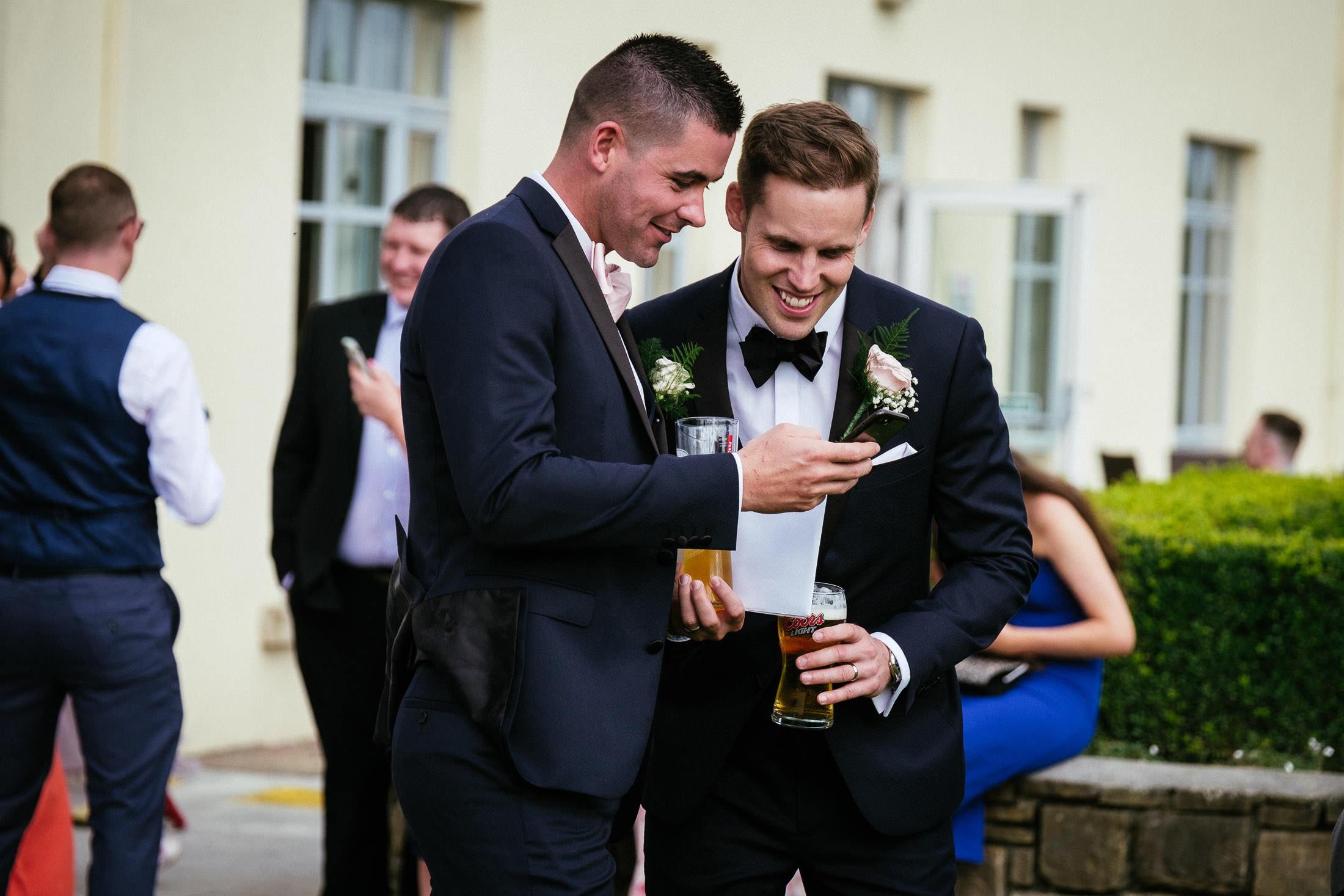 Knightsbrook Hotel Trim Castle Wedding Photographer 87