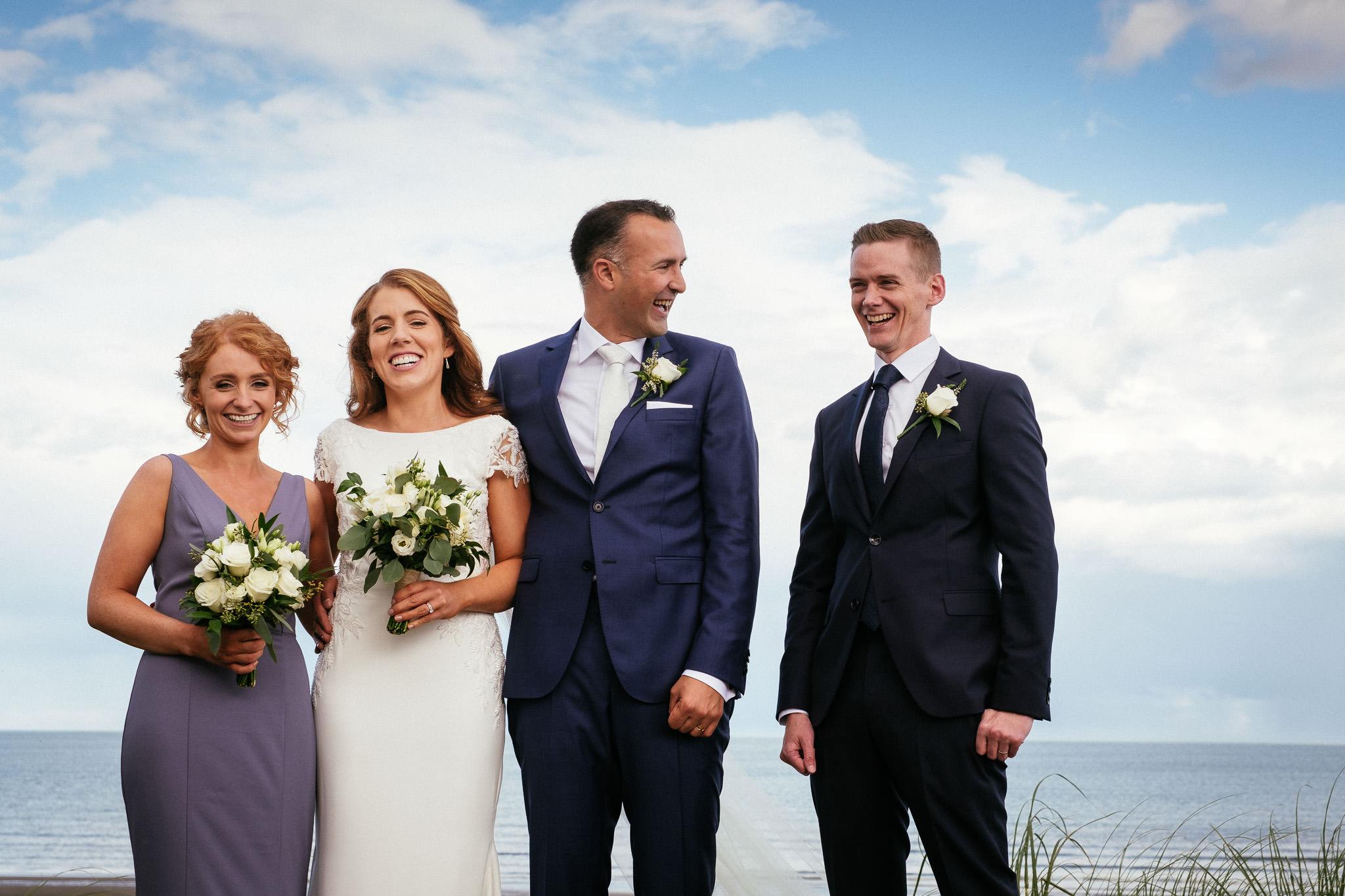 bridal party portmarnock hotel wedding
