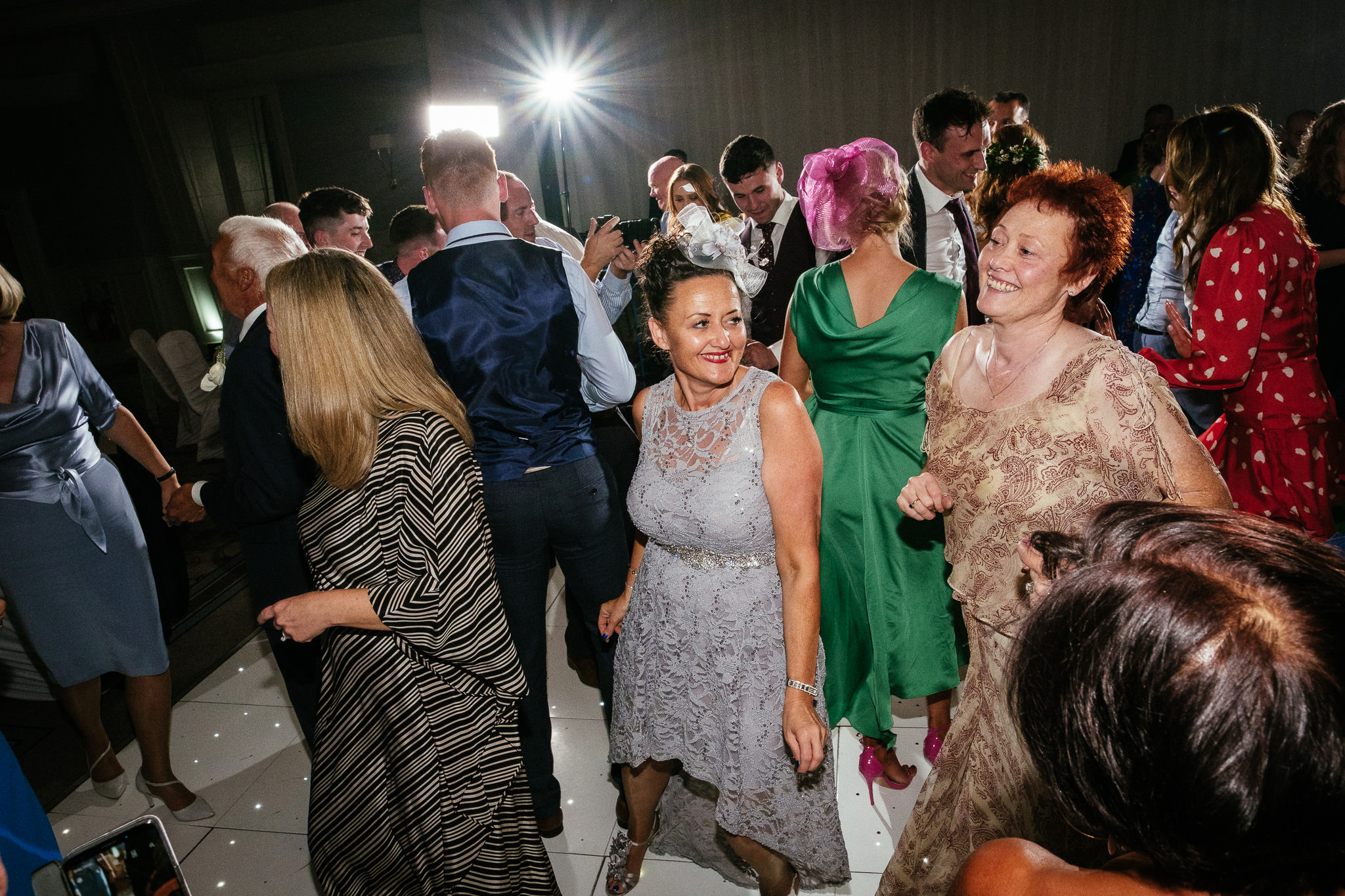 guests dancing at the Portmarnock Hotel Dublin