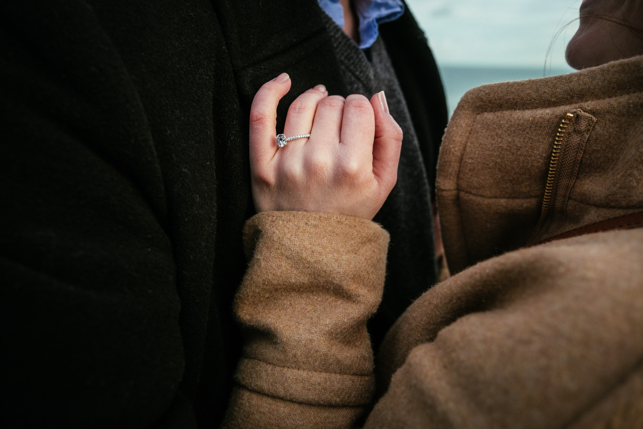 Surprise proposal at Howth Summit Dublin Photographer 11