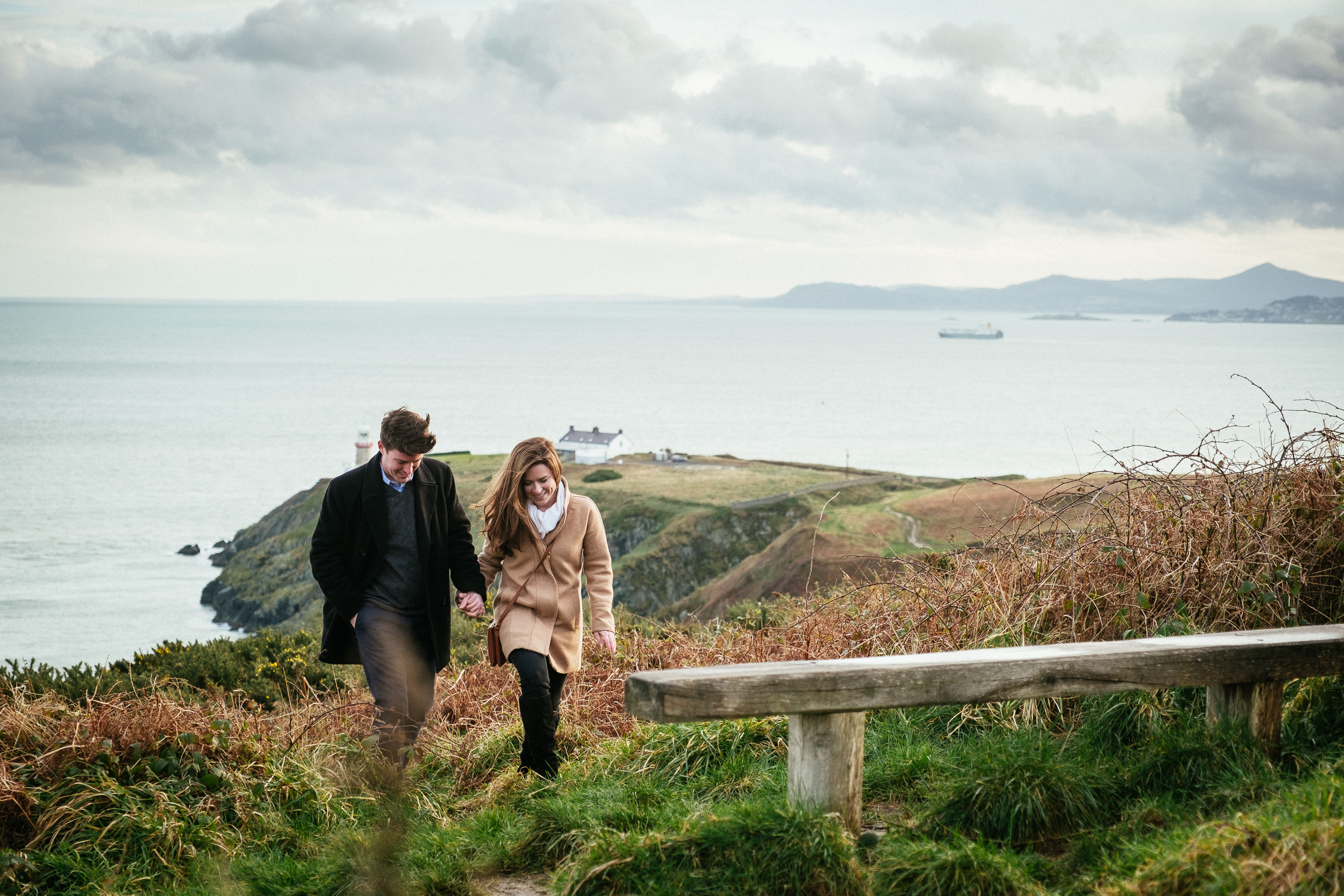 Surprise proposal at Howth Summit Dublin Photographer 12
