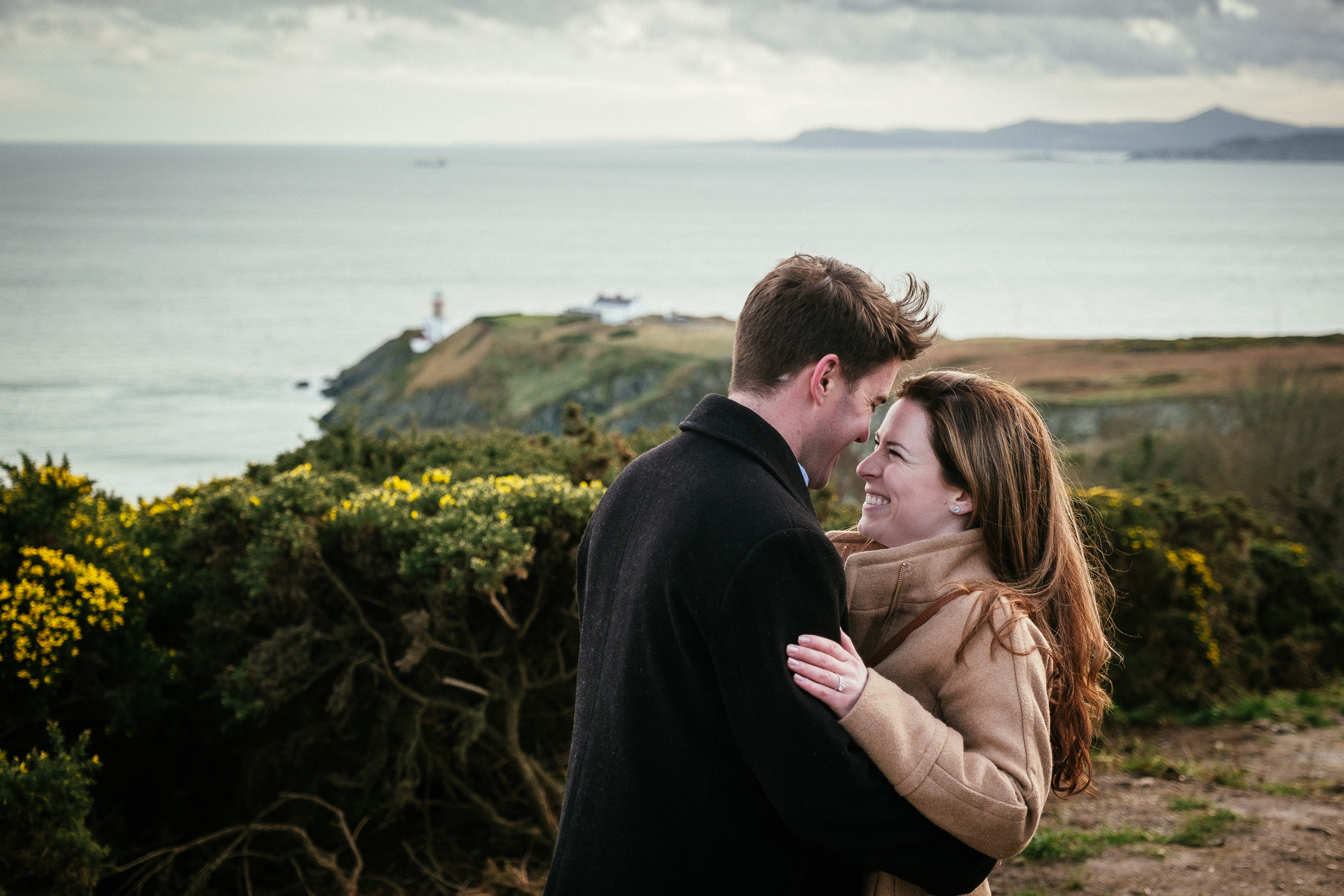 Surprise proposal at Howth Summit Dublin Photographer 13