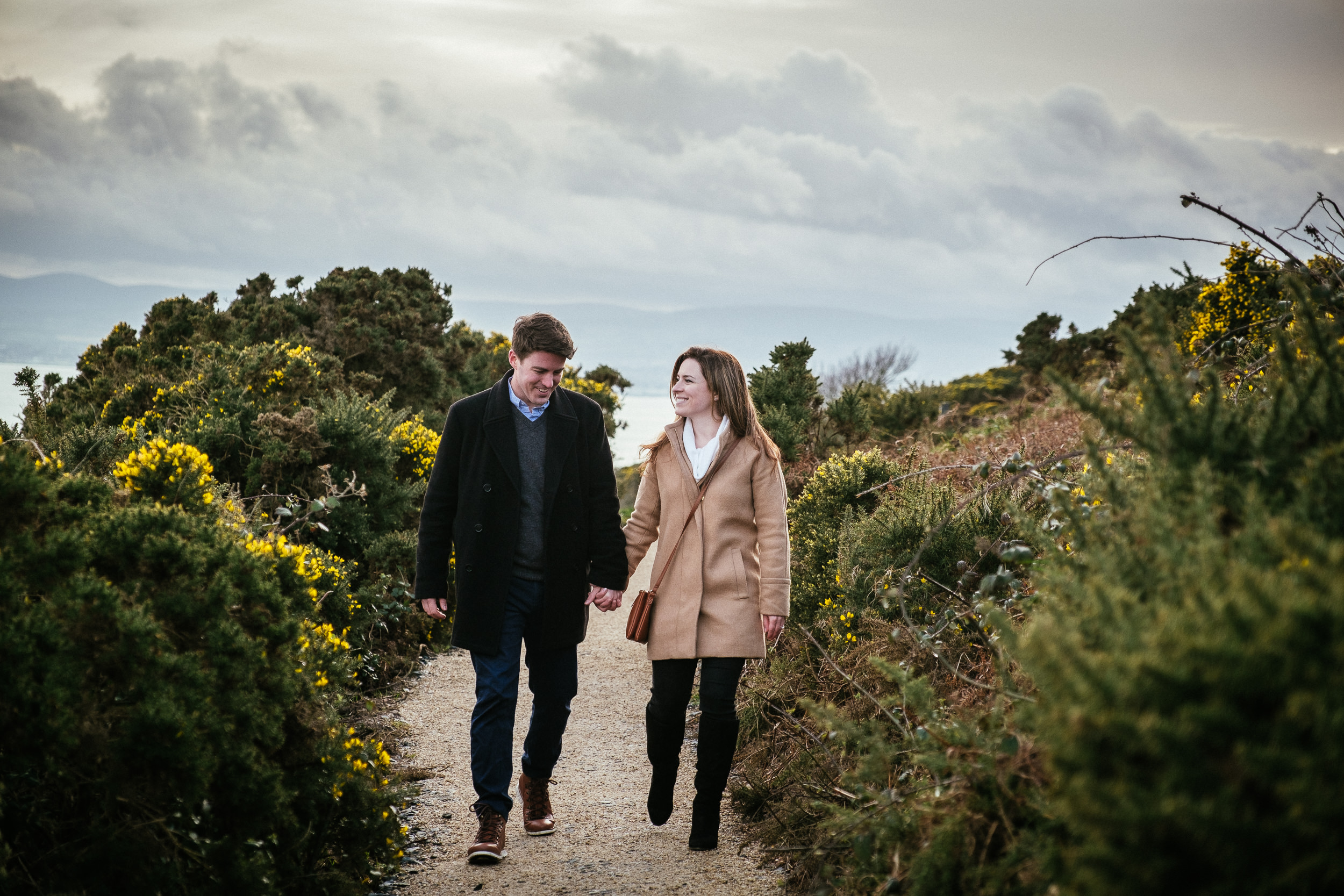 Surprise proposal at Howth Summit Dublin Photographer 14