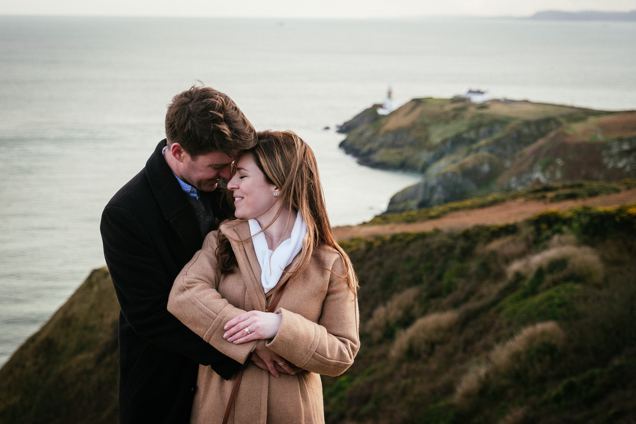 Surprise proposal at Howth Summit Dublin Photographer 17