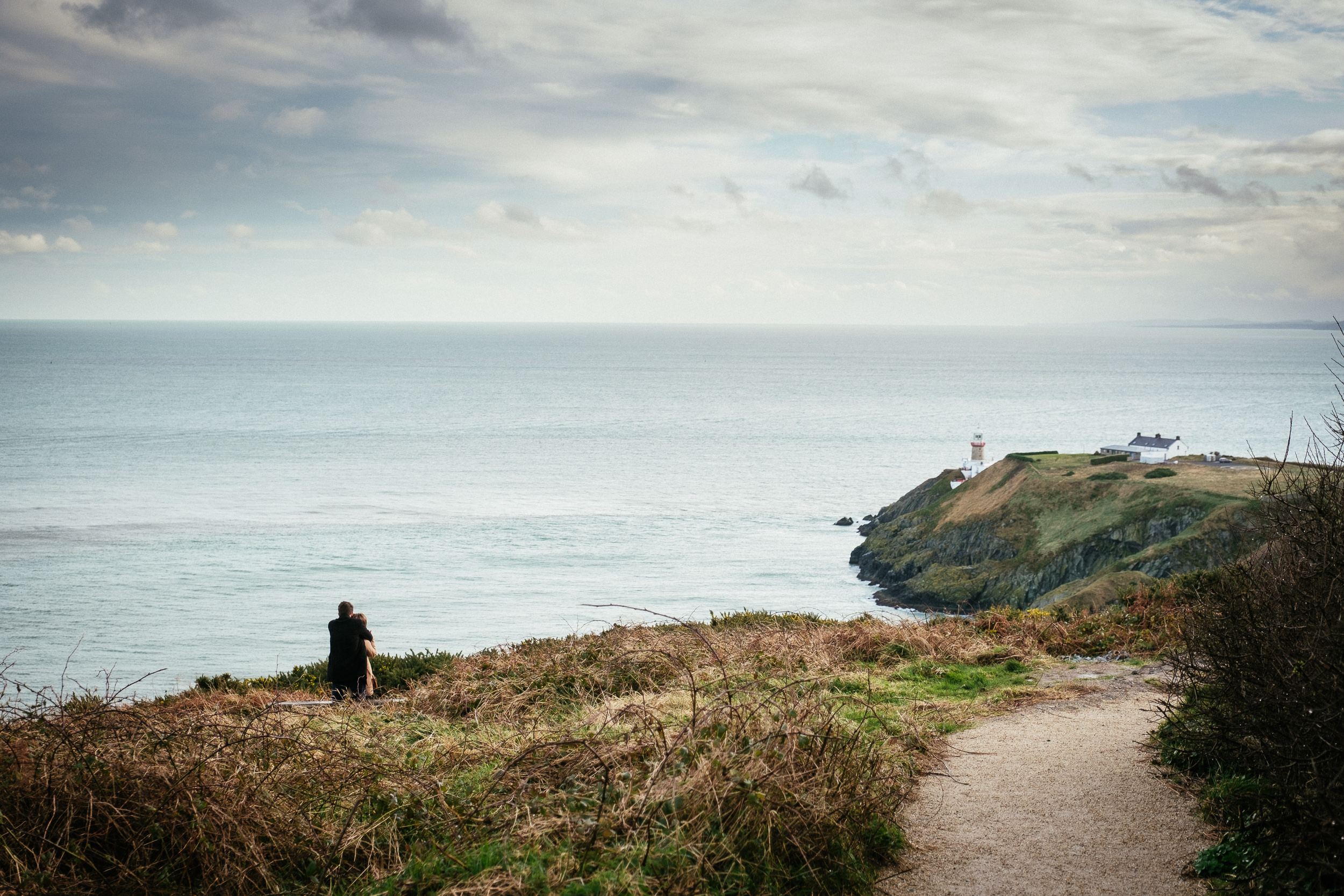Surprise proposal at Howth Summit Dublin Photographer 2