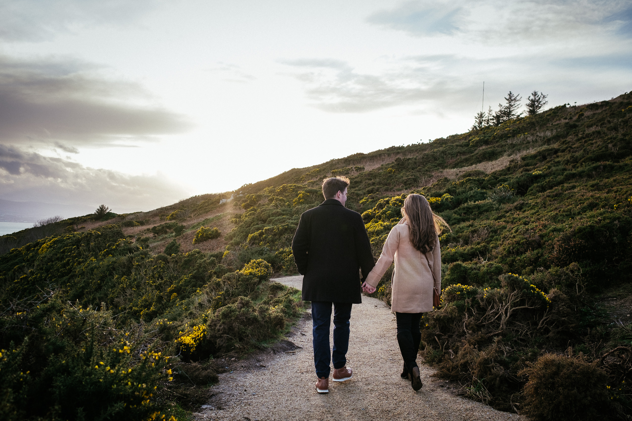 Surprise proposal at Howth Summit Dublin Photographer 21